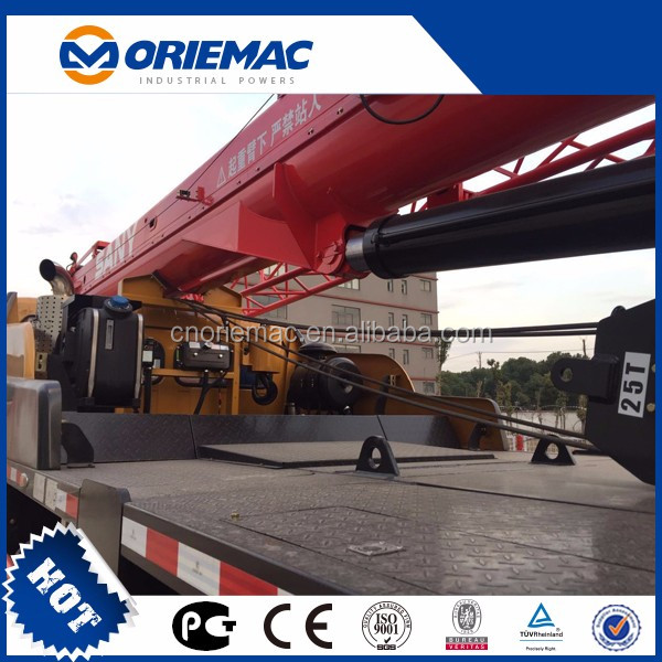 Manufacturers SANY STC750S 75t truck crane small construction equipment