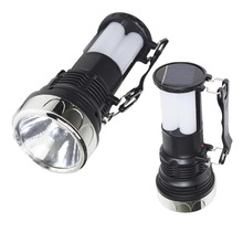 New model multifunctional solar power led hand light