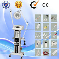 16 in 1 multiple functions galvanic high frequency skin care body spa beauty machine AU-2008A