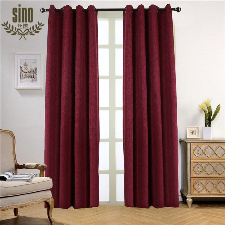 Custom Color blackout elegant curtain