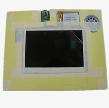 Popular 4.3 inch LCD tft video module for greeting brochure card