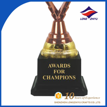 Plastic sport cup basketball trophy ,Trophy parts promotion