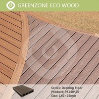 wood plastic composite technics type wpc decking board fence