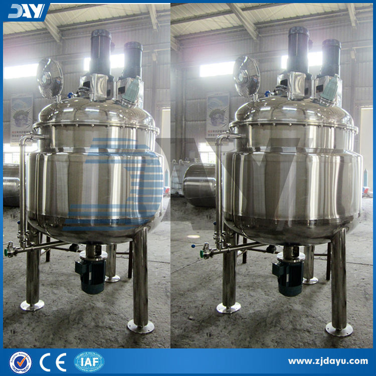 1000L honey filter Emulsifying stirring tank ,stainless steel shampoo/chemical/juice mixing tank