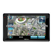 5 Inch High definition Car GPS with SiRF Atlas-V dual core ARMII