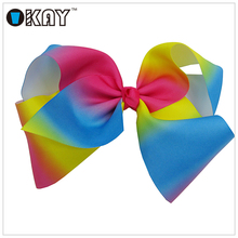 High Quality Big Ribbon Bow Christmas Ribbon Hair Bow For Decorative