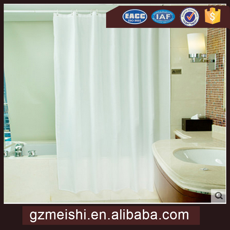 luxury curtain home goods clear plastic bathroom shower curtain with matching window curtain