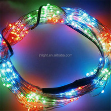 160 LED Copper Wire Branch String Lights Fairy Timbo Lights with Controller Lines & EU Plug Charger Cable for Party / Christmas
