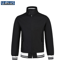 Most Popular men bomber jacket cotton from china