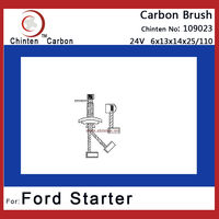 Ford auto spare parts - carbon brush(brush size 6x13x14x25/110)