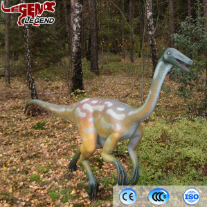 Theme park equipment decoration artificial rubber dinosaur robot toys