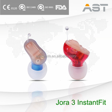 Jora 3 Hearing Care Products Hidden Hearing Aids CIC Types