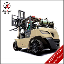 BEST SALE FORKLIFT TYPE 5T 6T 7T GM 4.3 ENGINE LPG FORKLFT