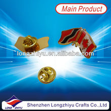 Wholesale Lapel Pin/Canadian Flag Lapel Pin/Collar Pins Badge With Butterfly Clutches