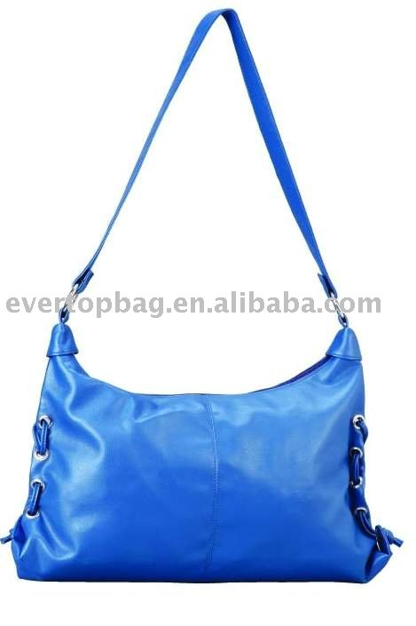 Creative custom blue shoulder polo ladies handbags