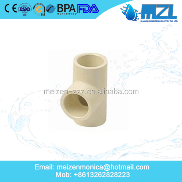 Best quality and low price cpvc pipe and fittings