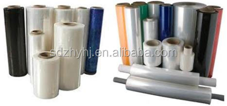 Food Grade Pe Cling Film Pvc Stretched Film