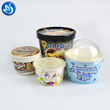 Blizzard Ice Cream Shop Paper Ice Cream Cup/Frozen Yogurt Container