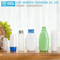QB-TC100 100ml good for shampoo,hand cream etc. popular travel size unique tube-like plastic tottle water bottle 100ml