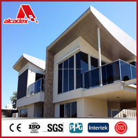 outdoor class A2 fire rated aluminum composite panel/ACP