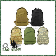 Tactical utility gear 3d backpack army green