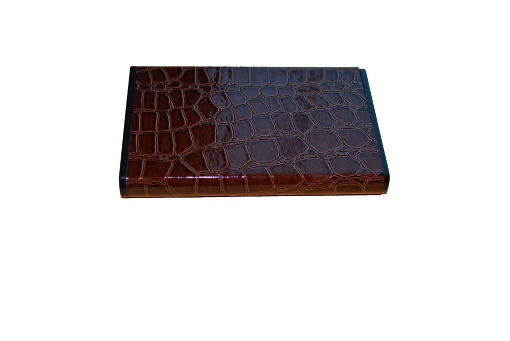 New Product Leather SATA External Hard Drive Enclosure
