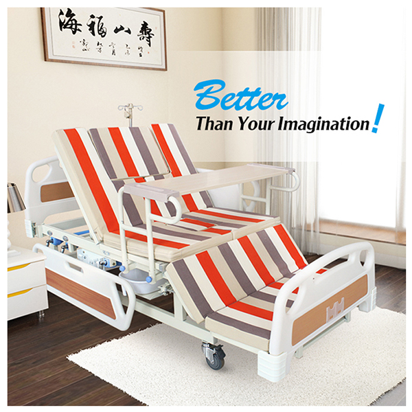Online Wholesale commercial furniture multifunctional manual home nursing bed