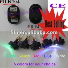 New style,12VDC,,50pcs/lot ASW-20D, 5 colors car cng switch