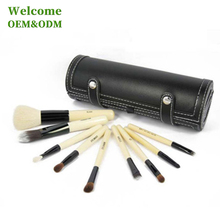 Wholesale professional customized hard rolling beauty cosmetic makeup brush case