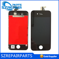 Colorful back cover with bezel frame for iphone 4s housing with accept paypal