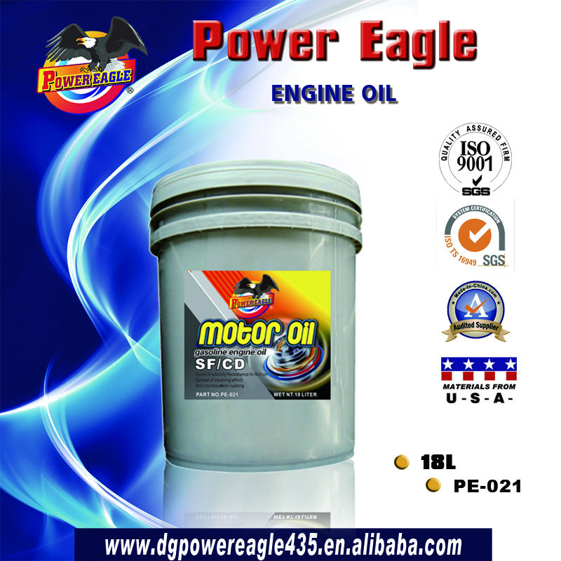 18L SF/CD 15W40 Motor Oil