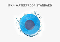 My speaker private patent direct factory wireless handsfree waterproof bluetooth shower speaker with strong suction cup