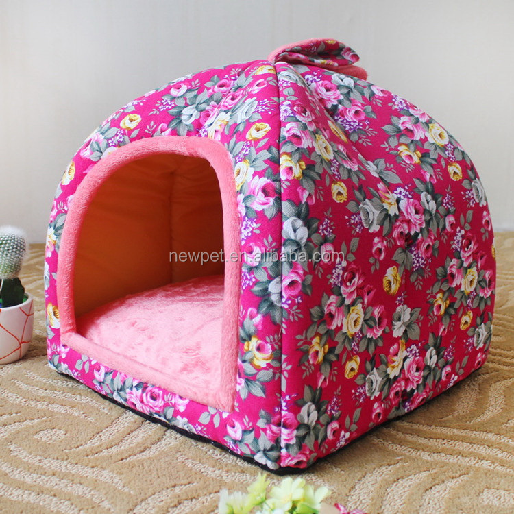 China supplier newly design s,m,l size dog bed cover cute cat beds