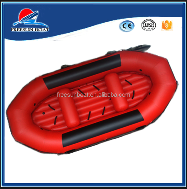 PVC inflatable drifting boat lake river dinghy boat
