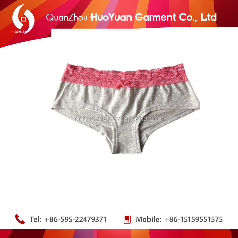 Famous brand mature beautiful women sexy transparent ladies underwear panties with lace
