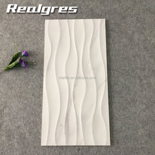 Foshan Artificial White Wave Ceramic Wall Tiles,Decorative Ceramic Tile Factory