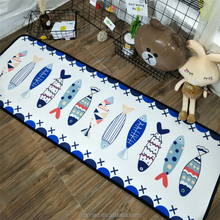 Colorful fish Indoor outdoor carpet rug lowes baby crawling carpet