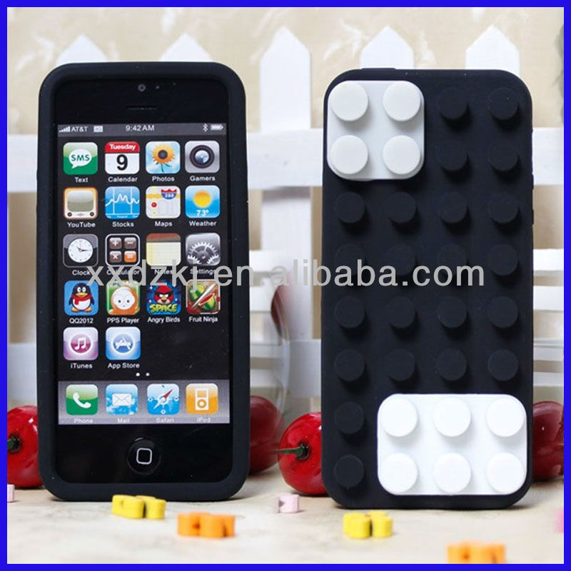 mobile acessories cheap price fun block phone jacket for iphone5