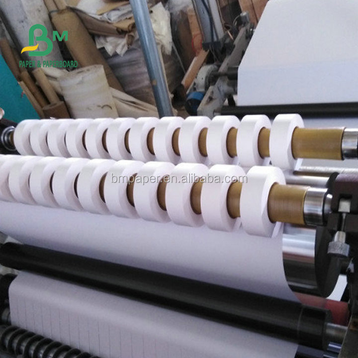 Eco-friendly  and virgin material 53gsm white woodfree paper for printing