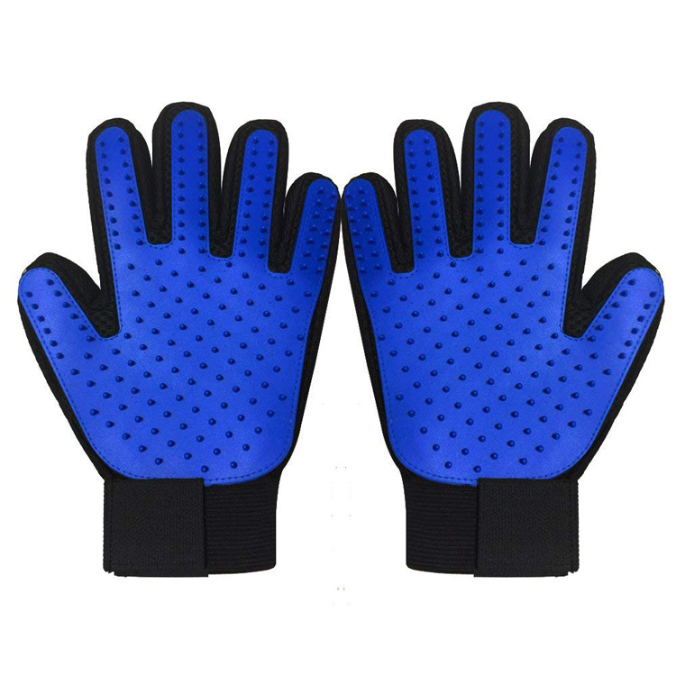 Pet Grooming Gloves Brush Dog Cat Hair <strong>Remover</strong> Mitt