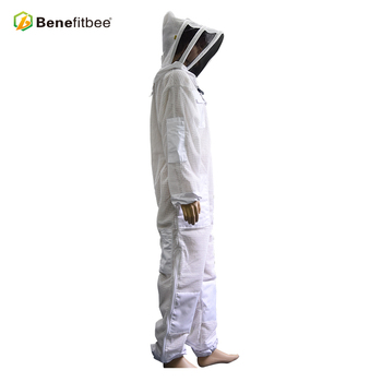 Professional Bee Suit Protective Clothing 3 Layer Mesh Beekeeper Suit
