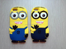 Despicable Me 2 Minions Cheap Silicone Case For Iphone Case