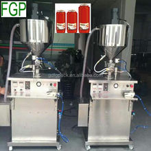 Hot Sale Cosmetic Cream Heating Mixing Filling Machine