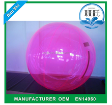 Commerial roll inside inflatable ball, inflatable water walking ball rental