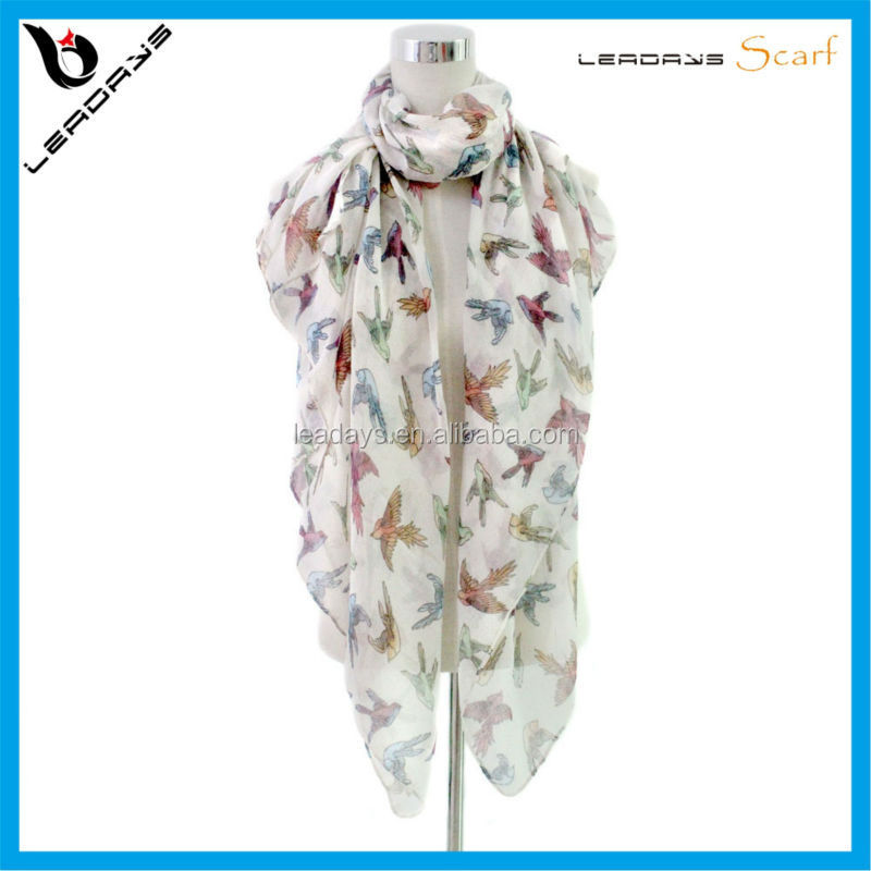 best selling bird printed dubai hijab wholesale