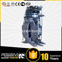 Long after service hydraulic rotating grapple for excavator for sale
