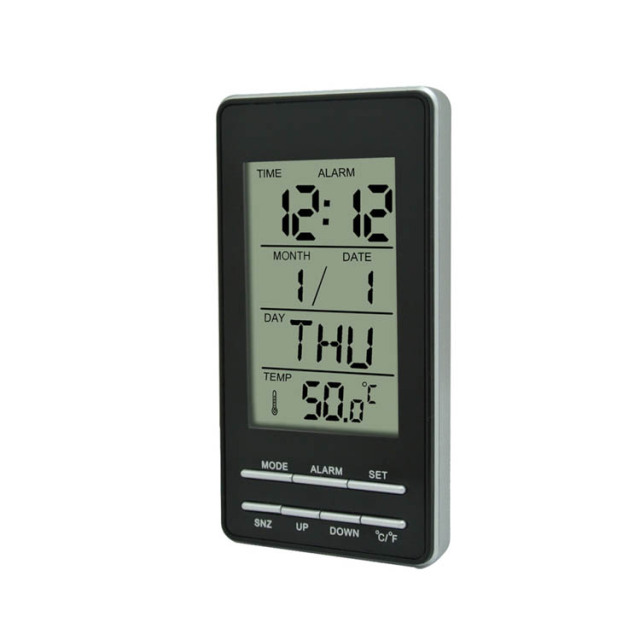Manufacturer Excellent Quality World Time Alarm Clock Calendar Calculator