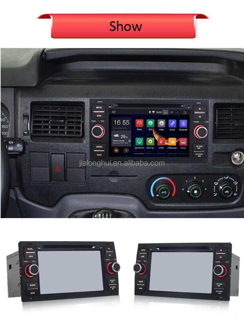 ANDROID 4.4 DOUBLE DIN CAR AUDIO STEREA DVD PLAYER FOR FORD FOCUS FIESTA05-2007 CAR GPS,WIFI,BLUETOOTH,1080P Video Playback,3G O