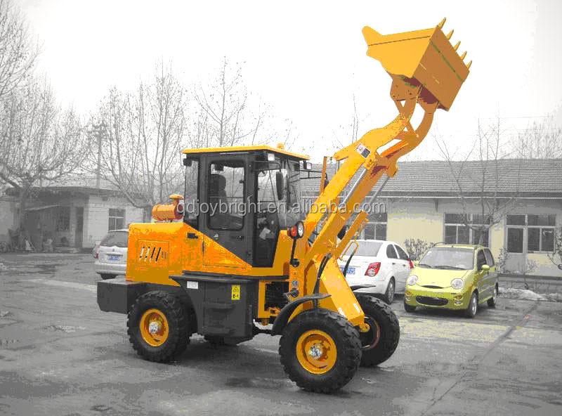 1.2ton wheel loader with cabin CE