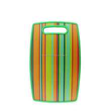 New Design toughened simple design colourful plastic long life pp chopping board